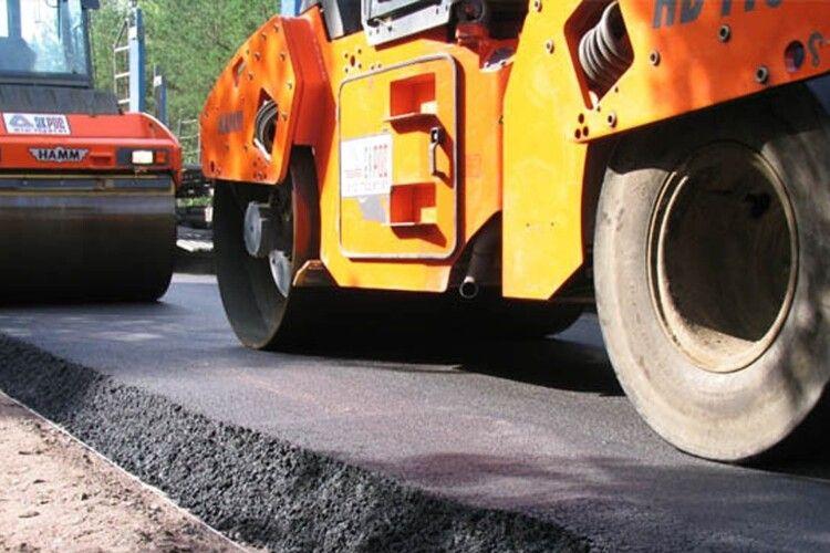 Відомо, в яких населених пунктах Волині цьогоріч відремонтують дороги. ПЕРЕЛІК