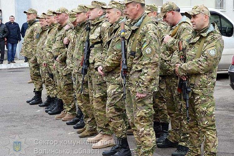 Бійці спецпідрозділу «Світязь» вирушили на ротацію в АТО