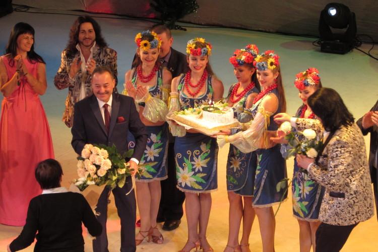 У Луцьку відбувся ювілейний вечір заслуженого діяча мистецтв України Віталія Іваницького