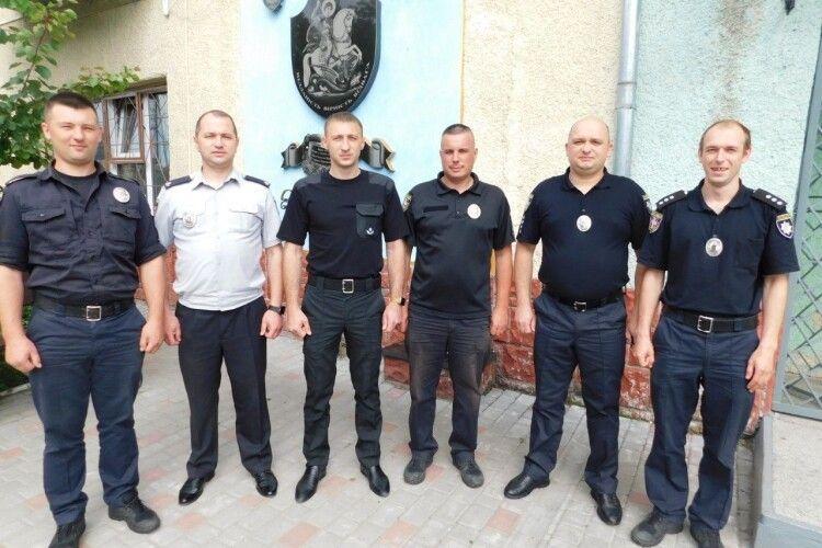 На Горохівщині привітали дільничних офіцерів поліції