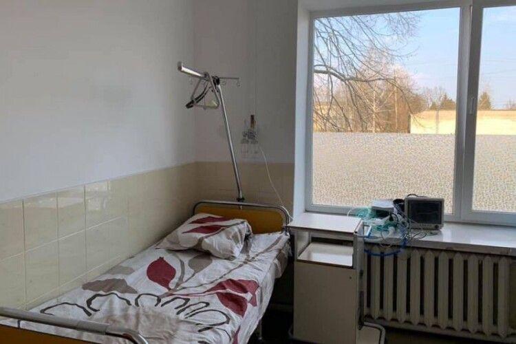 У лікарні волинського містечка встановлюють кисневу станцію вартістю 3 мільйони гривень