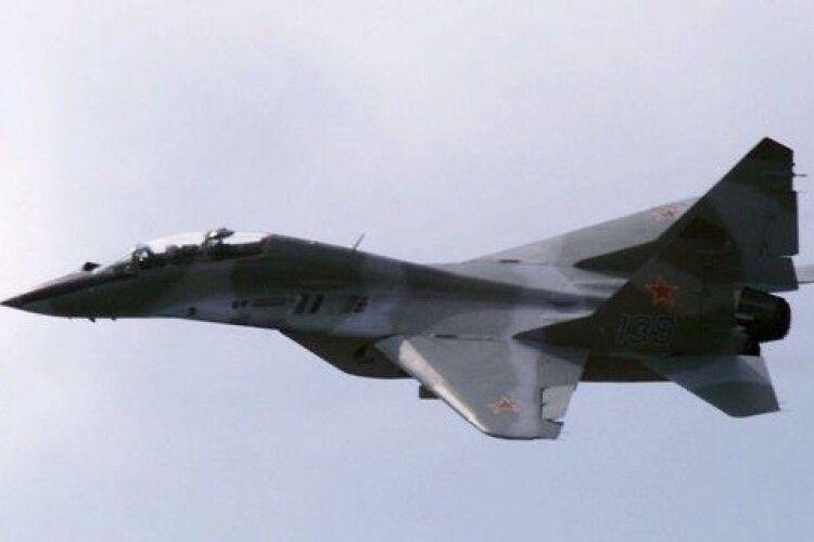 У Росії розбився винищувач МіГ-29: подробиці