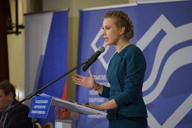Собчак «косить» під Тимошенко?
