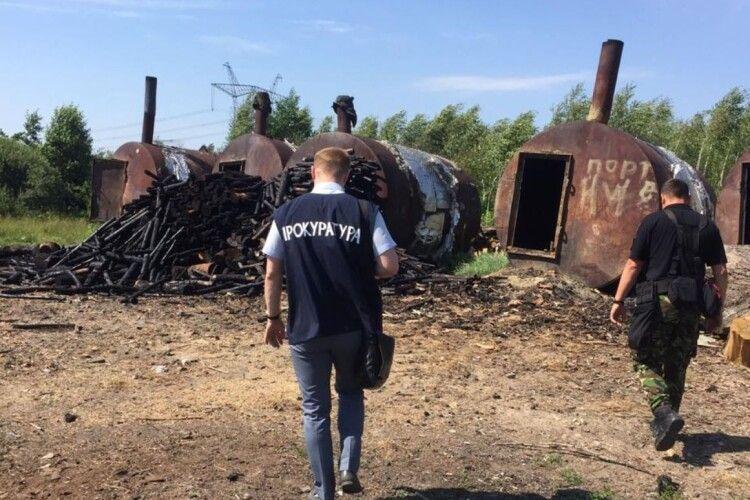 Деревне вугілля житель Рівненщини випалював для європейців (Фото)