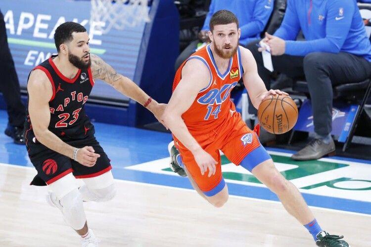 Українець Святослав Михайлюк провів феєричний матч в НБА
