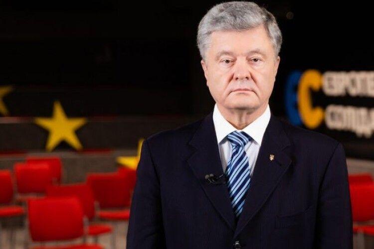 Петро Порошенко представив план порятунку України від коронавірусної кризи