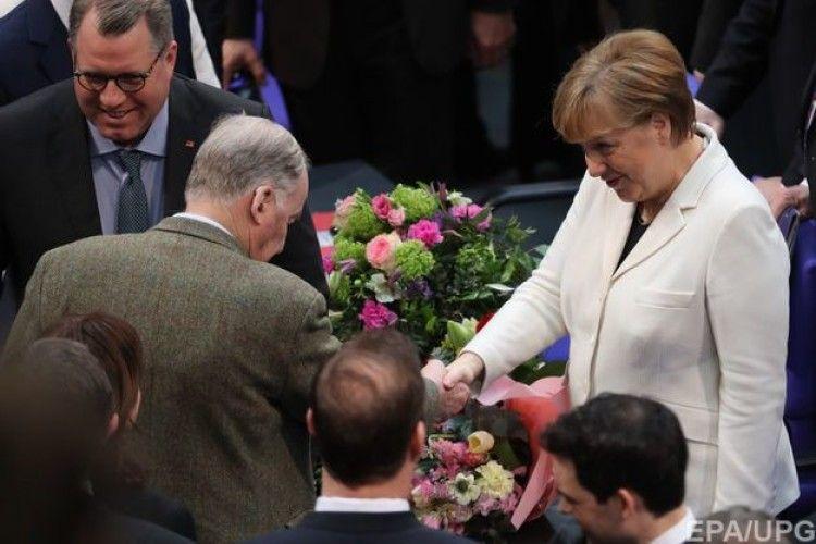 Меркель обрано канцлером Німеччини