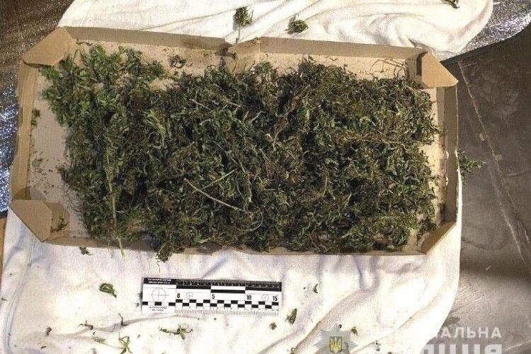 У жителя Рівненщини поліцейські вилучили наркотики та зброю (Фото)