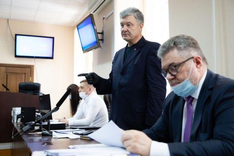Петро Порошенко у Печерському суді: поверніть цей «треш» Венедіктовій і не ганьбіться