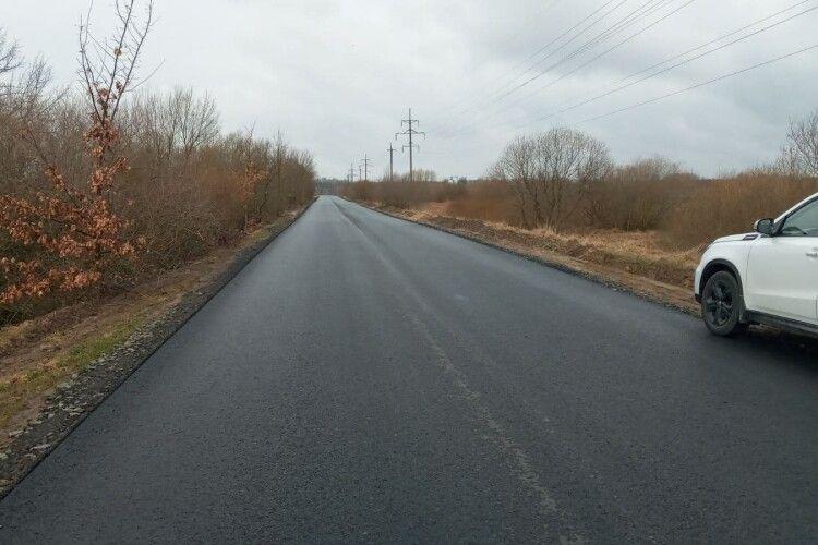 В Шацькій громаді будують нові дороги (Фото)