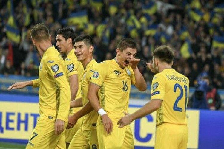 Перемога над іспанцями дозволила збірній України піднятися на 23-тє місце в рейтингу ФІФА