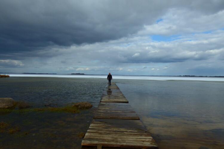 Після зими Світязь майже відвоював свої береги (Фото)