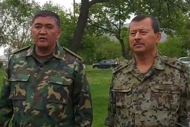 Киргизстан і Таджикистан повністю припинять вогонь