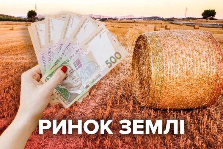 Ринок землі: кількість угод перевалила за 10,5 тисяч