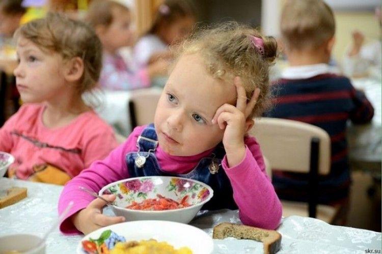 У Луцьку вимагають, щоб плата за харчування у дитсадках була однакова для лучан та нелучан