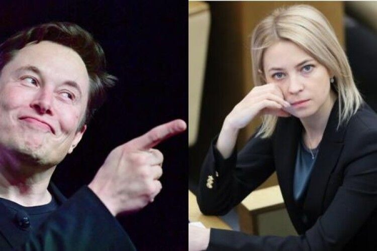 Колишня «прокурорка» Криму Поклонська покликала Ілона Маска переїхати в окупований Крим