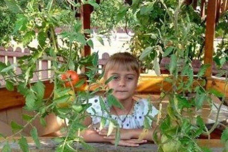 Волинянка вирощує помідори корінням догори