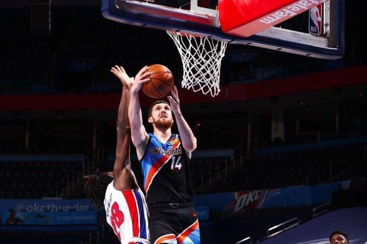 Святослав Михайлюк піднявся у рейтингу найрезультативніших українців у НБА (Список)