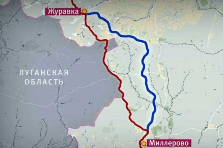 Росія запускає поїзди в обхід України
