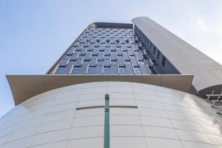 У Гонконзі збудували церкву на 21 поверх