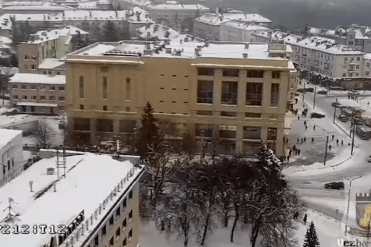 У центрі Луцька встановили камери-роботи (Відео)