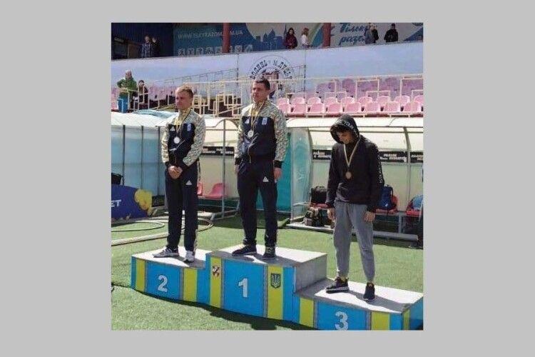 Волинські рятувальники здобули перемогу на 100-метрівці у відкритому чемпіонаті Луцька з легкої атлетики