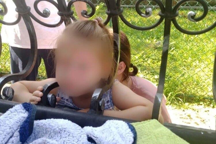 Бійці ДСНС рятували дівчинку, яка застрягла головою в паркані (Фото)