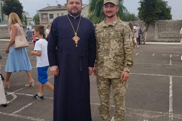 Серед випускників військової кафедри луцького ВНЗ – капелан прикордонників