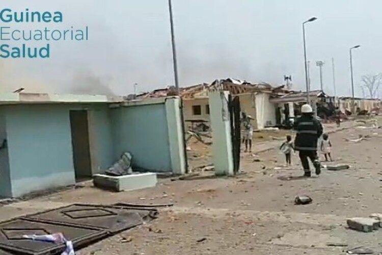 В Екваторіальній Гвінеї трапилася серія вибухів, загинули щонайменше 17 людей