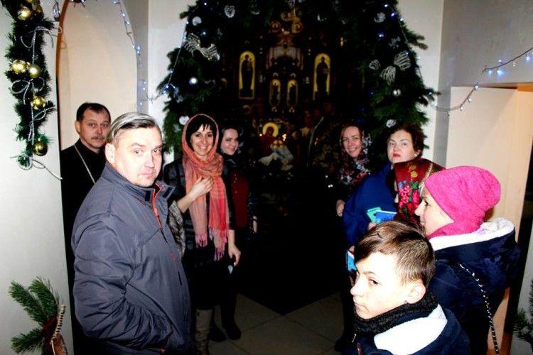 У Ковелі родини учасників АТО запросили на різдвяну зустріч «У дружньому колі»