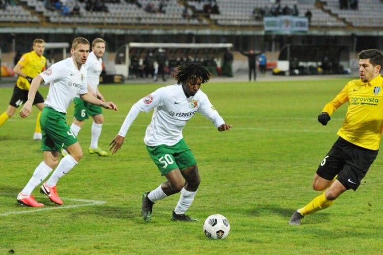 «Ворскла» здолала ФК «Олександрія» й здобула першу перемогу з листопада 2020 року