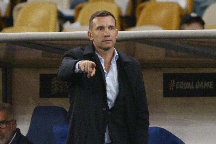 Андрій Шевченко: «Найбільш позитивний момент сьогоднішнього матчу – це те, що глядачі повернулися на трибуни»