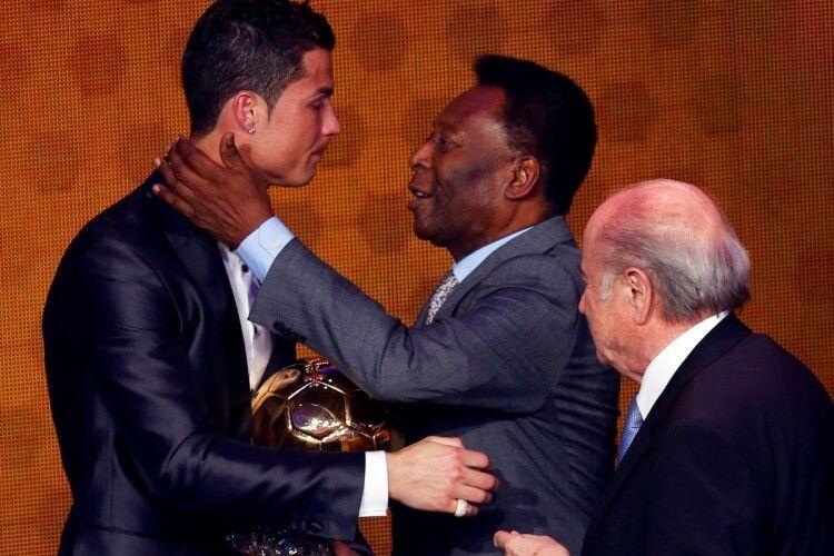 «Я захоплююся тобою...»: легендарний Пеле привітав Кріштіану Роналду з побиттям рекорду, який багато років належав саме йому