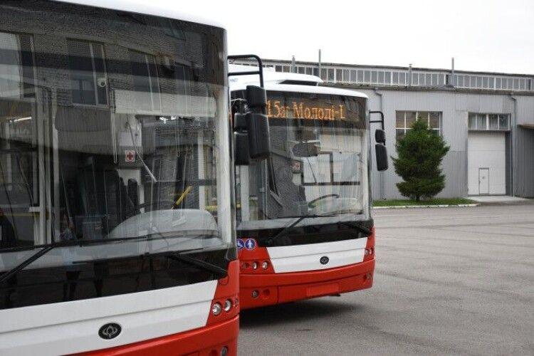 Коли для Луцька куплять обіцяні нові тролейбуси