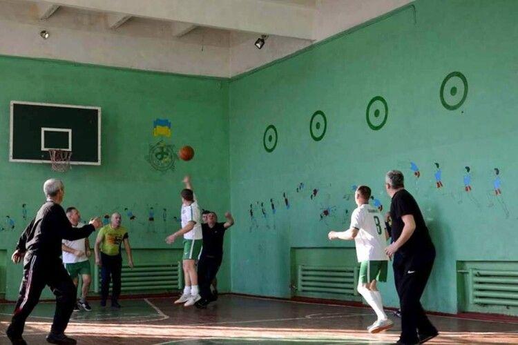 Визначили кращих волейболістів Шацького національного парку