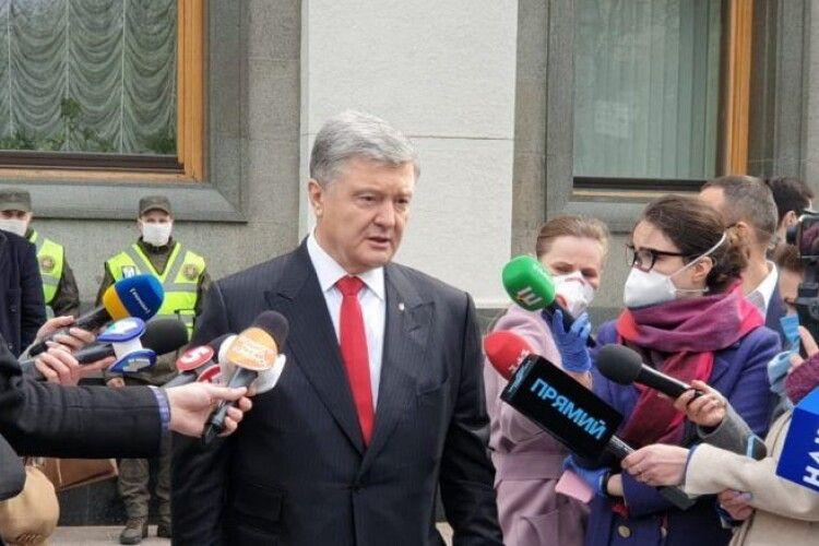 Петро Порошенко закликав проголосувати закон про страхування лікарів на випадок інфікування COVID 19