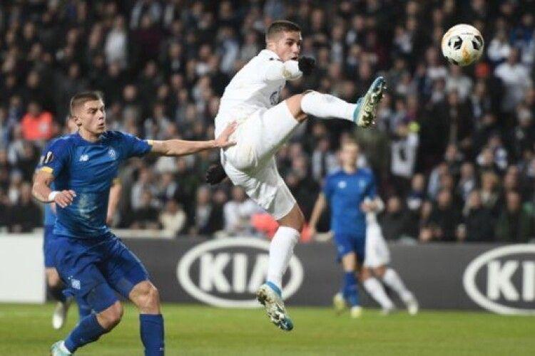 Київське «Динамо» знову грає внічию 1:1 з «Копенгагеном» (відео)