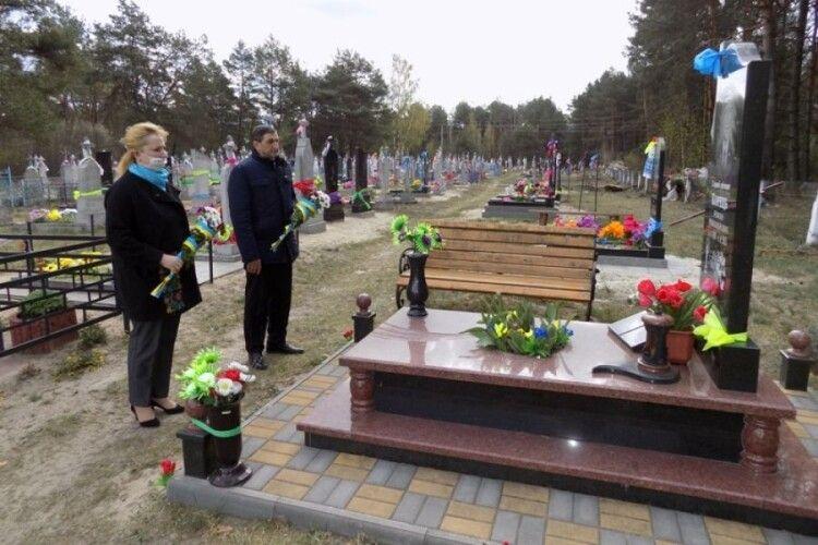 На Любешівщині вшанували  подвиг земляка-атовця
