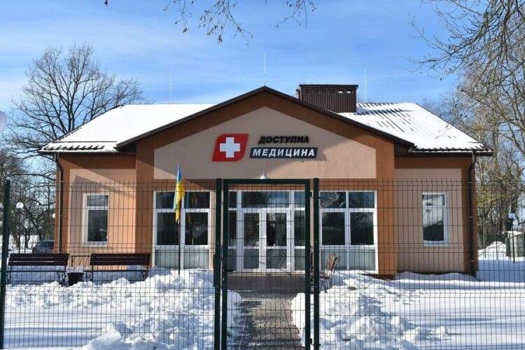 На Ковельщині запрацювала нова амбулаторія з житлом для лікаря