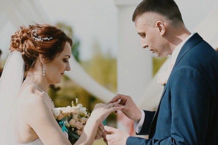 На Волині одружилися діти загиблих на Майдані Героїв