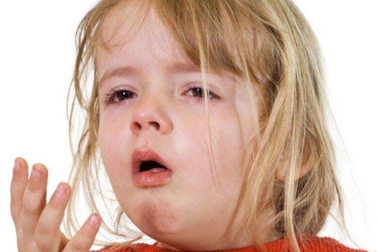 На Рівненщині з початку року у 6 разів зросла захворюваність дітей на кашлюк