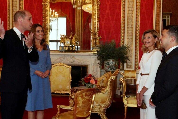 Президент Зеленський запросив герцога і герцогиню Кембриджських в Україну