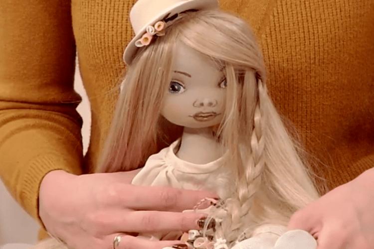 Ляльки луцької майстрині замовляють у багатьох країнах