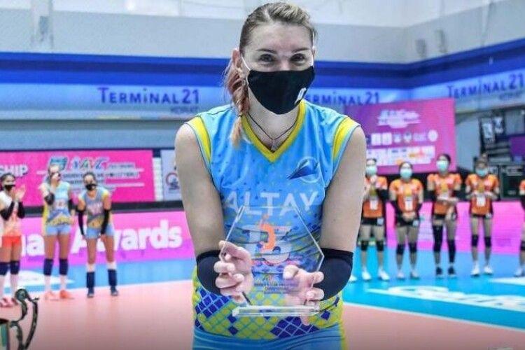 Неймовірно! Українська волейболістка перемогла на клубному чемпіонаті Азії (Фото, відео)