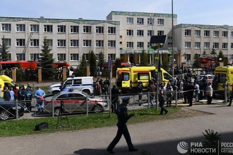 Стрілянина у школі в російській Казані: дев'ятеро загиблих