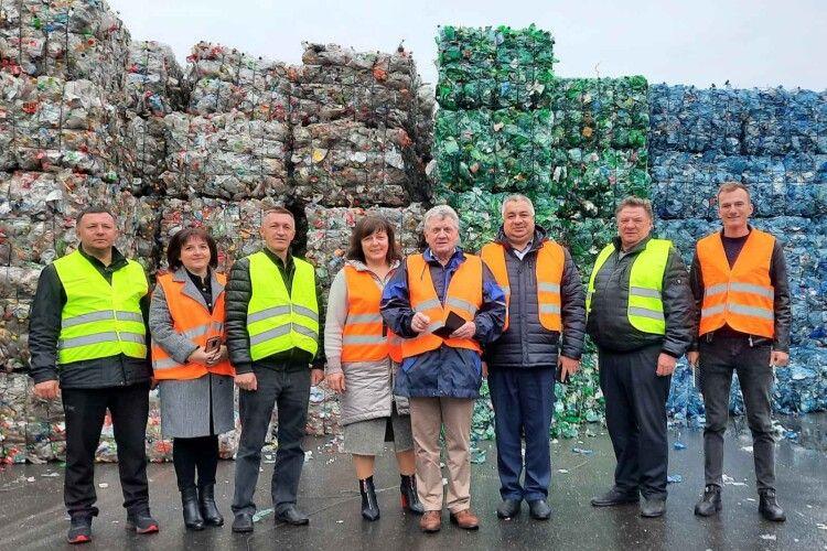 Як голови волинських громад в Австрії переймали досвід сортування й переробки сміття (Фоторепортаж)