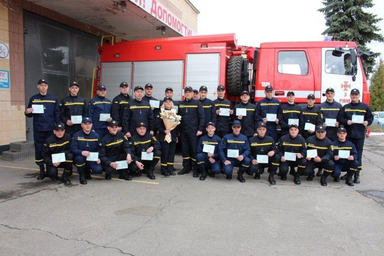 Лави рятувальників Рівненщини поповнилися двома дюжинами новачків (фото)