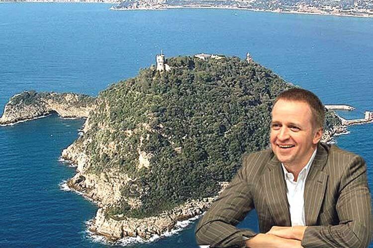 Син ексрегіонала придбав за10мільйонів євро острів