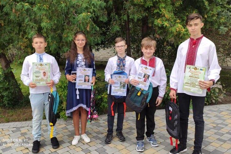 У Луцьку нагородили найкращих юних математиків України