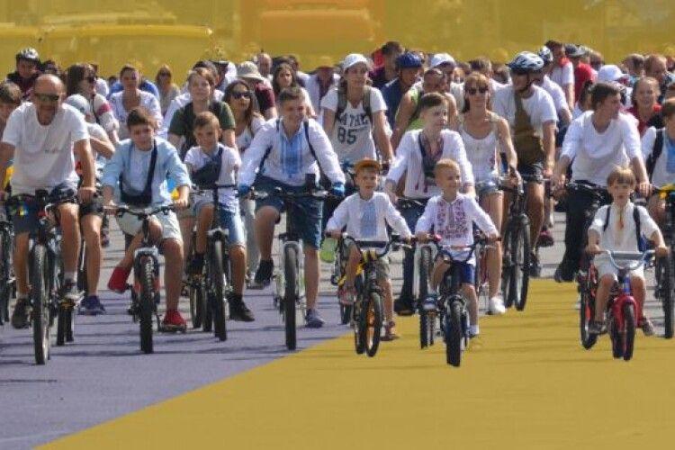 У Луцьку відбудеться велопробіг «Шаную воїнів, біжу за Героїв України!»